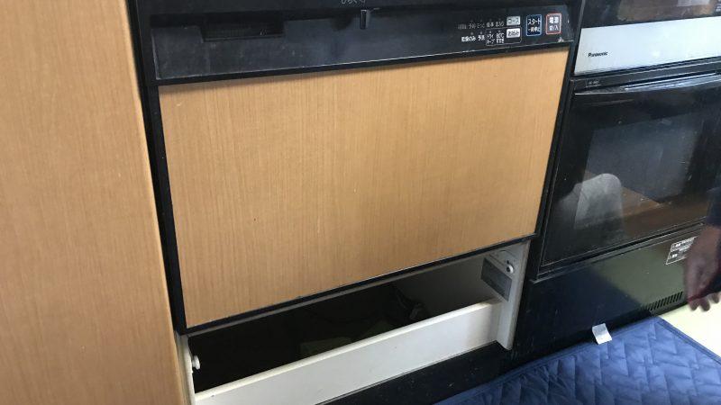 ビルドイン食洗機の入替え